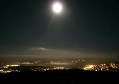 Ajaccio au clair de lune.