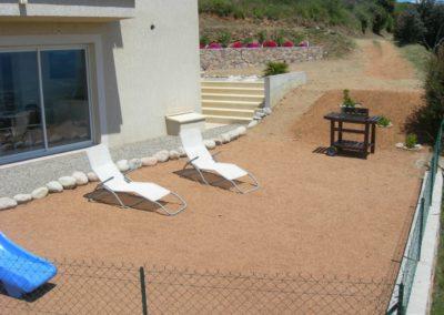 Exterieur villa 4 pers