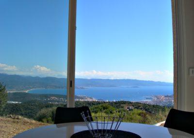 Séjour panoramique villa 4 pers