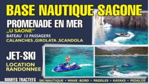 base nautique de Sagone en corse