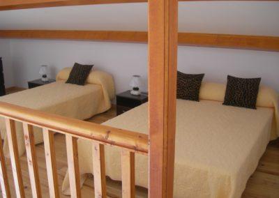 Mezzanine de la villa 5 pers.