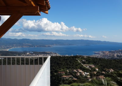 Balcon villa 5 pers